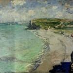 """Claude Monet  """"La spiaggia a Pourville"""" (1882) Museo Nazionale di Poznan"""