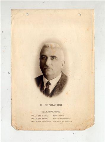 2 - Il fondatore cav. Carlo Pagliarini