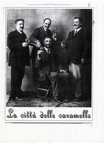 3 - Carlo Pagliarini festeggia con amici il raggiungimento di un traguardo importante