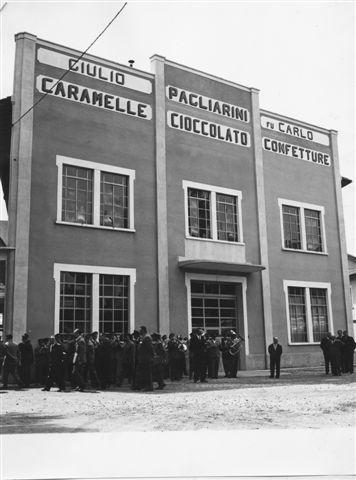 42 - Il primo capannone 1943
