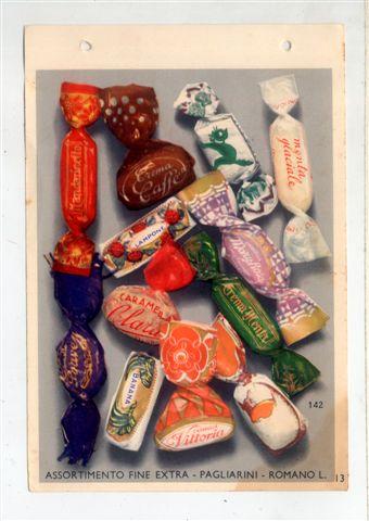 8 - Catalogo produzione caramelle anni 40