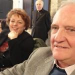 Schivardi Pio con la moglie Iva