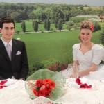 Sposo in primo piano