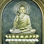 La postura del loto, utilizzata a volte nella meditazione seduta.
