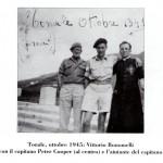 Monsignor Bonomelli con, alla sua destra,  il capitano inglese Peter Cooper