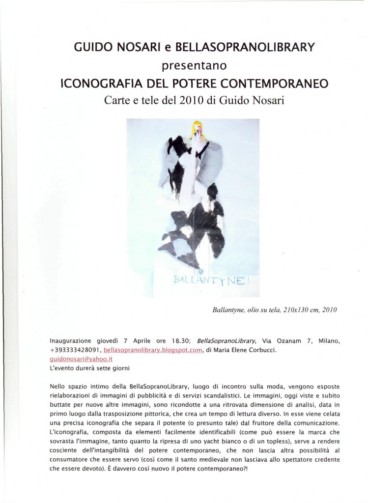 mostra guido2011 milano