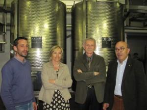 Da sinistra, Mauro Mazzoleni, Giancarla e Giuseppe Bonaldi, Silvio Magni