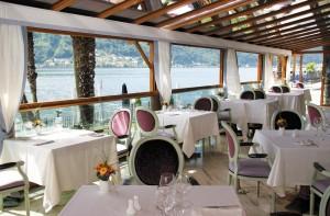 Ristorante Lago del Swiss Diamond Hotel di Lugano