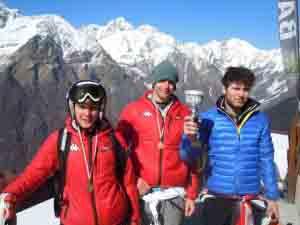 Stefano Alemanni, Mattia Ferrazzini, Andrea Epis