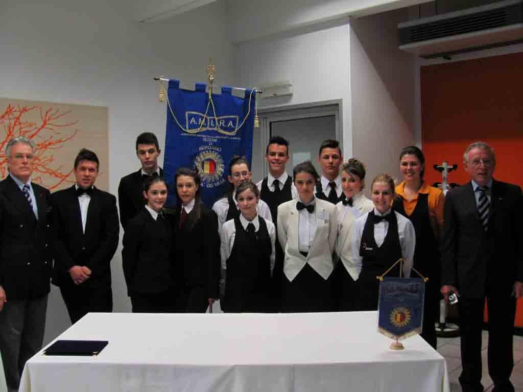 Gli allievi che hanno partecipato alla gara.