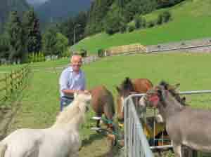 Francesco Maffeis imprenditore-contadino a Schilpario