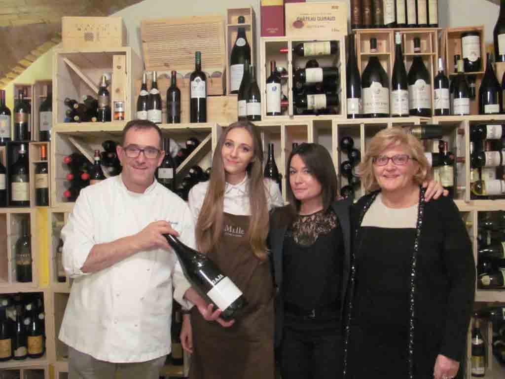 Da sinistra, Giampaolo Stefanetti, la figlia Martina, Rossana Gaja, Paola Stefanetti.