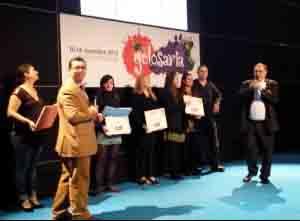 La-premiazione-di-Alessandra Gotti del Settecento di Presezzo(terza-da-sinistra)