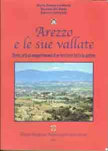 La copertina del volume Arezzo e le sue Vallate