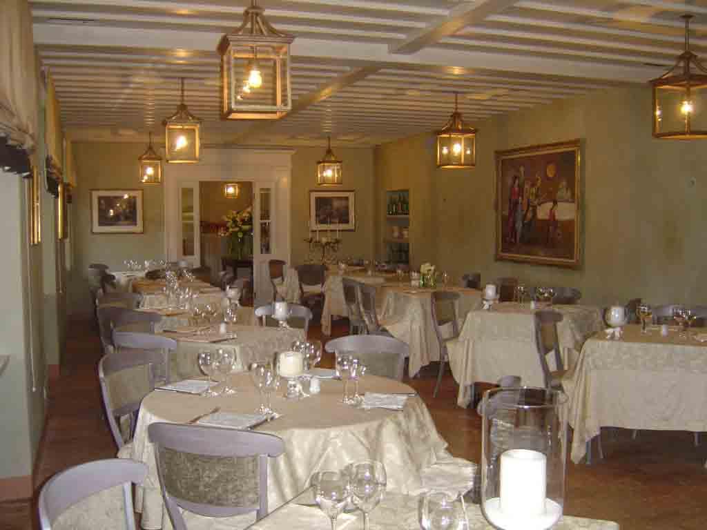 La sala principale del ristorante Al Tram