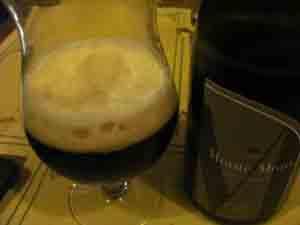 La birra scura Monte Moro