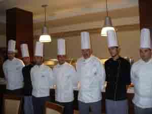 Una recente manifestazione dell'associazione Ristoranti Regionali - Cucina Doc
